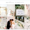 Modern Romance Wedding Design – Overall Inspiration