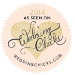 As seen on Wedding Chicks 2014
